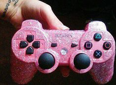PINK AND SPARKLY GAME CONTROLLER