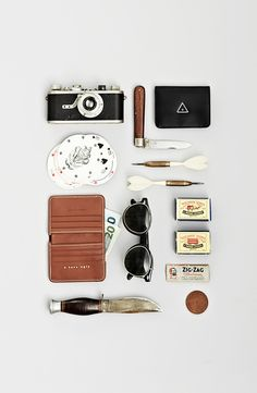 knolling everyday objects