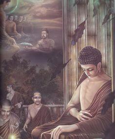 dhammahappiness: ภาพพุทธประวัติสวยมาก