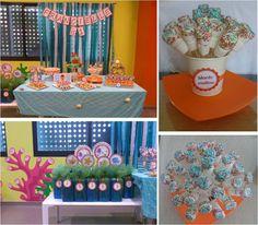 Blue & Orange Sea Theme
