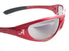 Support Your Alabama Crimson Tide with these comfortable, sporty, and stylish mens sunglasses. Shout to everyone where your pride lies without even saying a word wherever you go. They feature Scratch Resistant Lenses, NCAA Officially Licensed Logos, UVA 400 Protection, and UVB 400 Protection. Support your team and show your pride with these officially licensed Alabama Crimson Tide Sunglasses brought to you by Sports Accessory Store.