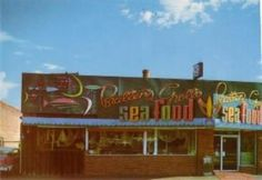 Brattens - back in the day it was the only place you could go for seafood. Located on 400 So vicinity of 'Chili's' Utah Adventures, Salt Lake City Utah, History Photos, Slc, Back In The Day, Old Pictures, Childhood Memories, Places To See, Seafood
