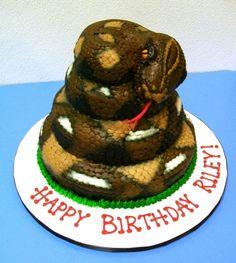 Coiled Snake Birthda