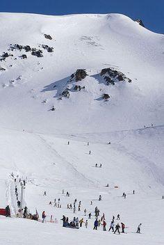 Centro de actividades de montaña La Hoya, Esquel, Chubut, Patagonia Argentina