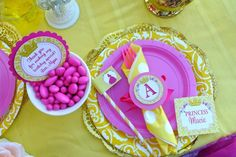 Belle Princess Party | CatchMyParty.com