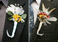 Little items that represent the groomsmen - NB could have a guitar, Jerry could have a malifaux mini, etc. - MP
