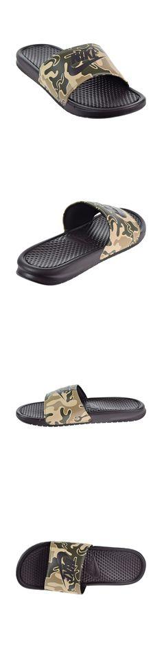 1a3230c7356c9 Sandals 11504  Mens Nike Benassi Jdi Print Slides Brown Tan Green  Camouflage 631261 202 Sandals -  BUY IT NOW ONLY   27.99 on  eBay  sandals   benassi  print ...