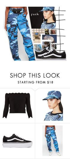 """""""Untitled #462"""" by laylay143domo ❤ liked on Polyvore featuring Alexander McQueen, Rothco, Vans and Versus"""