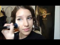 "Katniss Everdeen makeup tutorial: Opening Ceremonies ""The Girl On Fire"" MakeupByMelby on YouTube."