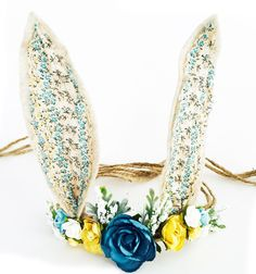 Woodland Bunny Flower Crown 1c7ddf16d34e