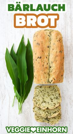 Wild garlic recipes, bread recipes: Use the wild garlic time to easily bake delicious wild garlic bread yourself. The bread with fresh wild garlic is. Healthy Vegetarian Breakfast, Healthy Breakfast Smoothies, Healthy Dessert Recipes, Vegan Recipes, Bread Recipes, Quick Easy Healthy Meals, Healthy Low Calorie Meals, Easy Snacks, Easy Meals
