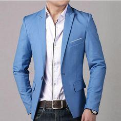 costume marié été bleu ciel - Recherche Google