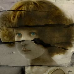 Altered/mixed media art using vintage images.