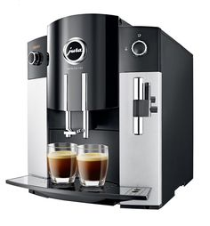 Jura Impressa Black Bean to Cup Espresso Cappuccino Coffee Machine Jura Espresso Machine, Jura Coffee Machine, Espresso Machine Reviews, Coffee And Espresso Maker, Automatic Espresso Machine, Best Espresso, Coffee Maker, Cappuccino Coffee, Coffee Shop
