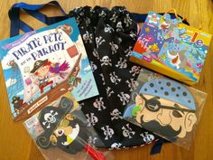 Pirate Pete Story Sack Bundle by LollyAndCo on Etsy