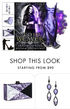 """""""Book Look: The Void Weaver By Lee Dignam & Katerina Martinez"""" by xmikky ❤ liked on Polyvore featuring Edie Parker and Urban Posh"""