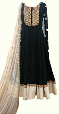 SARI PAKISTANI DESIGNER INDIAN SALWAR KAMEEZ ANARKALI REPLICA BOLLYWOOD SUIT #Handmade #SalwarKameez