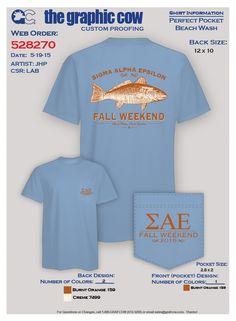 Sigma Alpha Epsilon Fish Fall weekend