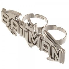 Batman Ring - Text Two Finger @Archonia_US