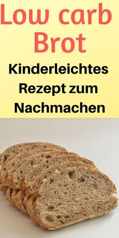 Low Carb Brot (Rezept) – sehr einfach und schnell zuzubereiten Food – Low Carb – rezepte Low carb bread (recipe) very easy and quick to prepare Food Low Carb Low Carb Desserts, Low Carb Recipes, Bread Recipes, Soup Recipes, Healthy Recipes, Quick Recipes, Healthy Baking, Health Desserts, Lowest Carb Bread Recipe