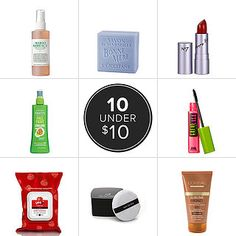 Best Drugstore Beauty Products Under $10- any type of product you can think of!