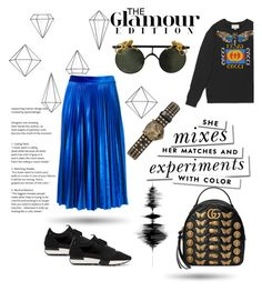 """""""My power look"""" by nancykou1 on Polyvore featuring Gucci, Umbra, MSGM, Balenciaga and Kate Spade"""