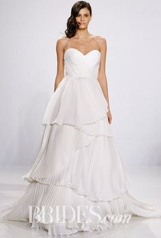 Cute Christian Siriano for Kleinfeld Spring Wedding Dress