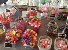Buffet de chuches | https://lomejordelaweb.es/