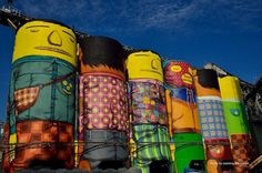Brazilian artists Os Gêmeos (twin brothers Gustavo and Otavio Pandolfo) are currently in Vancouver working on an impressive outdoor project organized by the Vancouver Biennale.