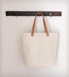 Cotton Canvas Tote Bag | Women's Bags & Accessories | Munie Designs | Scoutmob Shoppe | Product Detail