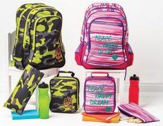 4-Piece Backpack Sets - Big W - $20