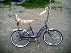 my first bike was very very similar, even had daisy print seat.