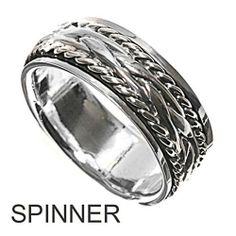 Rhodium Plated Sterling Silver Wedding & Engagement Ring Spinner Ring 8MM ( Size 5 to 10) Double Accent, http://www.amazon.com/dp/B007Q3V4R2/ref=cm_sw_r_pi_dp_mcUZqb126JM2P