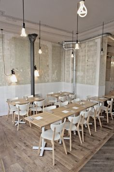 Coutume Café Paris by Robin de lestrade, via Behance