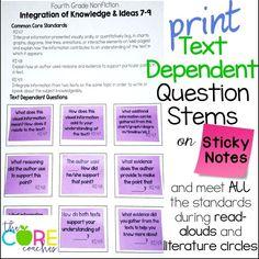 Print text dependent