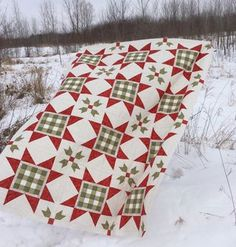 Gingham stars by Sherri K. Falls of This & That pattern co.