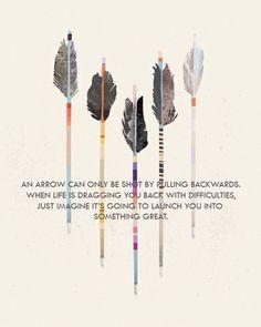 #arrow #quote #life
