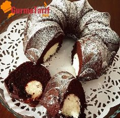Surprise Cake Recipe - Cocoa with Coconut- Sürpriz Kek Tarifi – Kakaolu Hindistan Cevizli Surprise Cocoa Cake Recipe – Surprise cake; A completely different taste with surprise coconut balls contained within. Cake Ingredients List, Cocoa Cake, Coconut Balls, Surprise Cake, Easy Cake Recipes, Granulated Sugar, Food Cakes, Vanilla Cake, Muffin