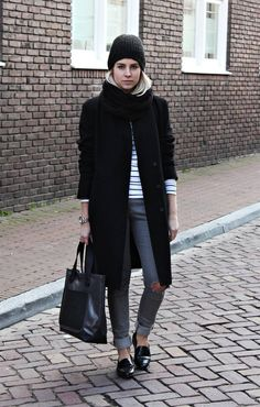 Outfit | Colorless ( Hats & Coats )