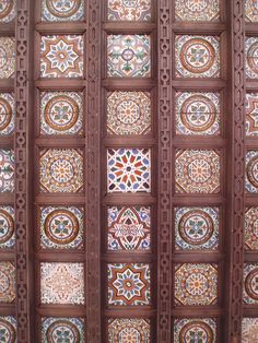 Alcazar Ceiling, Seville, Andalucía, Spain. http://www.costatropicalevents.com/en/costa-tropical-events/andalusia/cities/seville.html