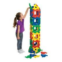 Discount School Supply - Giant Polydron Building Set - 40 Pieces