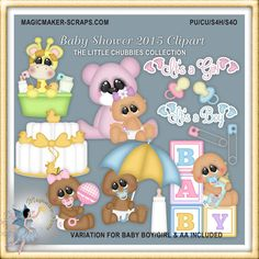 Baby Shower 2015 Clipart