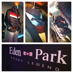 Montreal | YUL    @Eden_Park announces its availability in several stores in Quebec and the future opening of the flagship store in Montreal. Mr. Franck Mesnel, 87'world cup rugby player, president and founder, unveiled the SS12 collection.    Eden Park is a tribute to the rugby stadium in Auckland, New Zealand, The Mecca of rugby and theater of the first world cup in which international Franck Mesnel played for Le XV de France.