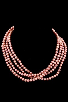 Splendid Pearls 6-7mm Pearl Endless Necklace in Rose