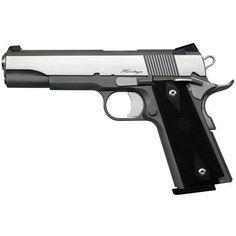 Dan Wesson RZ-45 Heritage 1911 Semi Auto Handgun .45 ACP 5 Barrel 8 Rounds Slim Line Black Grips Matte Stainless Finish 01981