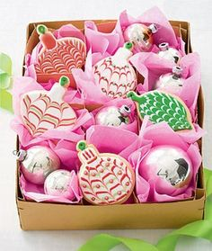 decorated christmas cookie - Google Search