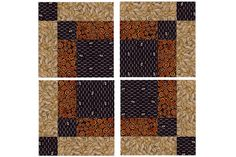 """Try the Bonnie Scotsman quilt block pattern to sew lovely 10"""" square quilt blocks. Assemble the blocks piece by piece or with quick piecing techniques."""