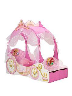 Disney Princess Carriage Toddler Bed | very.co.uk