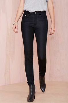 Janelle Jeans - Black - Denim