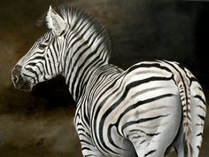 Stripes © Elize Bezuidenhout Acrylic on canvas 2008